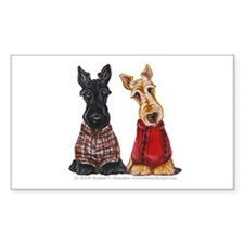 Sweater Scotties Decal