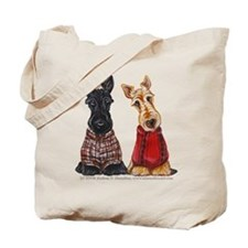 Sweater Scotties Tote Bag