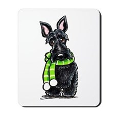 Scottie Scarf Mousepad