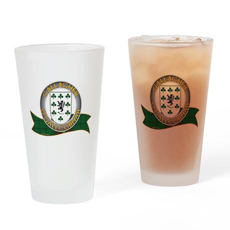 Gallagher Clann Drinking Glass