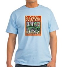 Buckhorn Beer Ash Grey T-Shirt