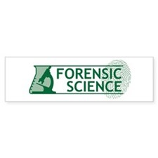 Forensic Science Bumper Sticker