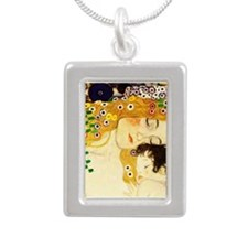 Gustav Klimt Mother and Child Necklaces