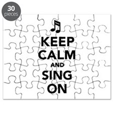 Keep calm and sing on Puzzle