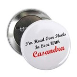 "In Love with Casandra 2.25"" Button (100 pack)"