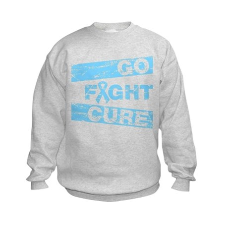 Thyroid Disease Go Fight Cure Kids Sweatshirt