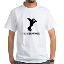 T-Rex Hates Cartwheels Shirt