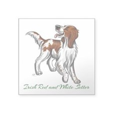 Irish Red and White Setter Sticker