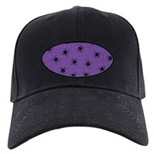 Purple Spider Pattern Baseball Hat