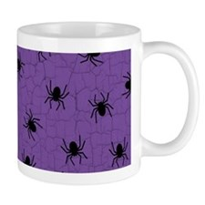 Purple Spider Pattern Mugs