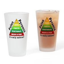 Paleo Pyramid - Natural Drinking Glass