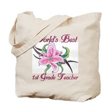 World's Best 1St Grade Teacher Tote Bag