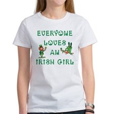 Everyone Loves an Irish Girl Tee
