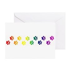 Paws All Over You Greeting Cards (Pk of 10)