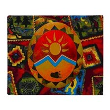 Sun Bear Throw Blanket