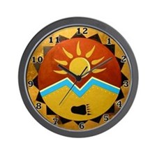 Sun Bear Wall Clock