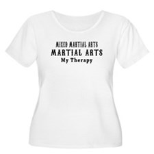 Mixed Martial Arts Martial Art My Therapy T-Shirt