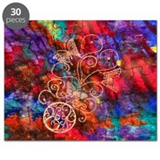 "Butterfly Lace 30 Piece Puzzle 7.5""x9.5"""