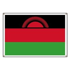 Flag of Malawi Banner