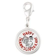 Happy Thanksgivukkah! Charms