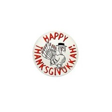 Happy Thanksgivukkah! Mini Button