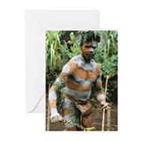 GOROKA MAN Greeting Cards (Pk of 10)