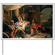 The Adoration of the Shepherds Yard Sign