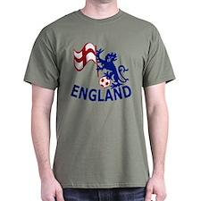 English St George Cross flag T-Shirt