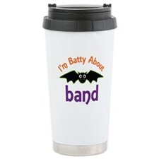 Batty About Band Stainless Steel Travel Mug