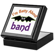 Batty About Band Keepsake Box