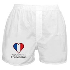 Happily Married Frenchman Boxer Shorts