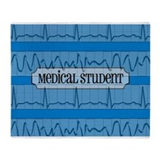 Medical student 10 Throw Blanket