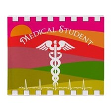 medical student 1 Throw Blanket