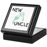 New Uncle (green) Keepsake Box