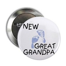"New Great Grandpa (blue) 2.25"" Button (10 pack)"