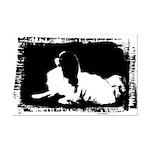Japanese Chin Mod Dog Mini Poster Print