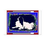 Japanese Chin Mod Dog Mini Poster Color