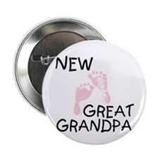 "New Great Grandpa (pink) 2.25"" Button (10 pack)"