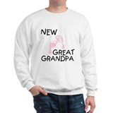 New Great Grandpa (pink) Sweatshirt