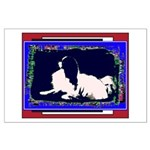 Japanese Chin Color Mod Dog Large Poster