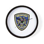 Medford Police Wall Clock