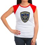 Medford Police Women's Cap Sleeve T-Shirt