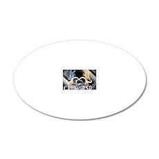 CRPS/RSD Awareness 20x12 Oval Wall Decal