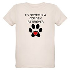 Golden Retriever Sister T-Shirt