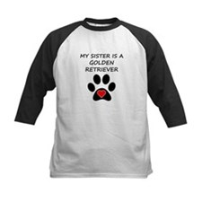 Golden Retriever Sister Baseball Jersey