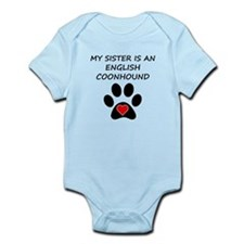 English Coonhound Sister Body Suit