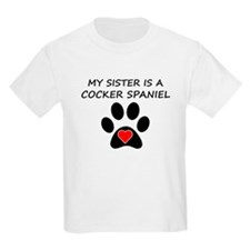 Cocker Spaniel Sister T-Shirt