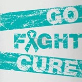 Scleroderma Go Fight Cure Drinking Glass