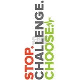 Dr. A Stop. Challenge. Choose. Stainless Water 1L