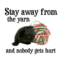 Stay Away From The Yarn Tee